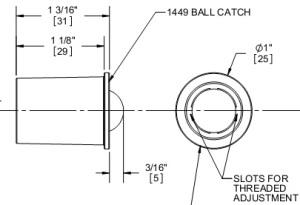 Door Ball Catch